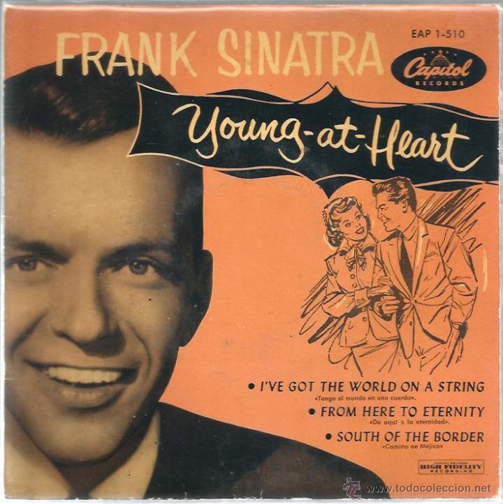 EP FRANK SINATRA : YOUNG AT HEART (Música - Discos de Vinilo - EPs - Pop - Rock Internacional de los 50 y 60)