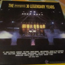 Discos de vinilo: THE MARQUEE 30 LEGENDARY YEARS - DOBLE LP - MADE IN UK IN 1989.. Lote 47633680