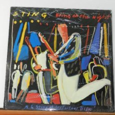 Discos de vinilo: STING - BRING ON THE NIGHT - POLYGRAM IBERICA - LP. Lote 47638690