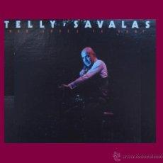 Discos de vinilo: TELLY SAVALAS LP WHO LOVES YA BABY 1976 USA MCA. Lote 47524075