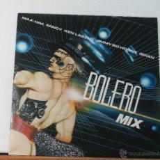 Discos de vinilo: BOLERO MIX - BLANCO Y NEGRO MUSIC - LP. Lote 47639556