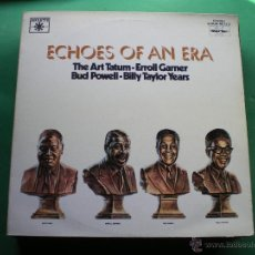 Discos de vinilo: ECHOES OF AN ERA - THE ART TATUM,ERROL GARNER, BUD POWELL, BILLY TAYLOR YEARS 2LP GATEFOLD PDELUXE. Lote 47641035