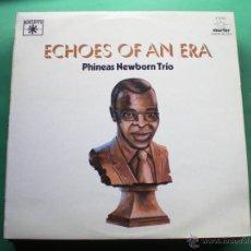 Discos de vinilo: PHINEAS NEWBORN TRÍO. ECHOES OF AN ERA 2LP GATEFOLD 1981 LABEL ROULETTE PDELUXE. Lote 47641426