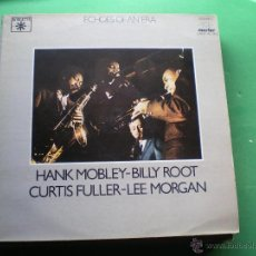 Discos de vinilo: ECHOES OF AN ERA - HANK MOBLEY, BILLY ROOT, CURTIS FULLER, LEE MORGAN - 2 LP LABEL ROULETTE PDELUXE. Lote 47641592