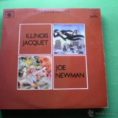 Discos de vinilo: ILLINOIS JACQUET - JOE NEWMAN . ECHOES OF AN ERA 2 LP GATEFOLD 1981 LABEL ROULETTE PDELUXE. Lote 47642077