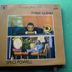 Discos de vinilo: TYREE GLENN , SPECS POWEL ECHOES OF AND ERA 2 LP 1981 GATEFOLD LABEL ROULETTE PDELUXE. Lote 47642202
