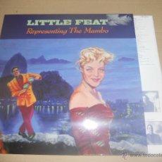 Discos de vinilo: LITTLE FEAT (LP) REPRESENTING THE MAMBO AÑO 1990 - ENCARTE INTERIOR CON LETRAS - EDICION ALEMANA. Lote 47643947