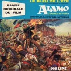 Discos de vinilo: B.S.O. DEL FILM EL ALAMO, EP, OUVERTURE + 4 , AÑO 19?? MADE IN FRECH (FRANCE). Lote 47651781