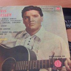 Discos de vinilo: ELVIS PRESLEY. (GIRLS ! CHICAS +3) EP ESPAÑA 1963 RCA 3-20698 (EP10). Lote 47663523