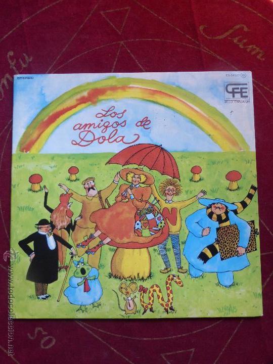 LOS AMIGOS DE DOLA - LP ORIGINAL DE 1978 SELLO EXPLOSIÓN - CARPETA ABIERTA Y BUEN ESTADO (Música - Discos de Vinilo - EPs - Grupos Españoles de los 70 y 80)
