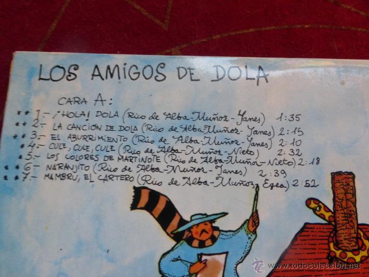 Discos de vinilo: LOS AMIGOS DE DOLA - LP ORIGINAL DE 1978 SELLO EXPLOSIÓN - CARPETA ABIERTA Y BUEN ESTADO - Foto 2 - 47666113