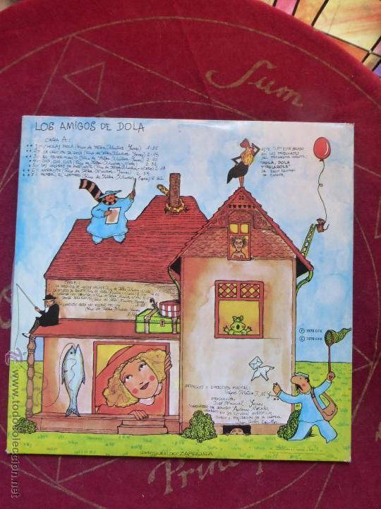 Discos de vinilo: LOS AMIGOS DE DOLA - LP ORIGINAL DE 1978 SELLO EXPLOSIÓN - CARPETA ABIERTA Y BUEN ESTADO - Foto 3 - 47666113