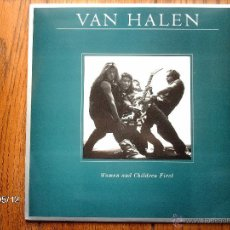 Discos de vinilo: VAN HALEN - WOMEN AND CHILDREN FIRST . Lote 47666563