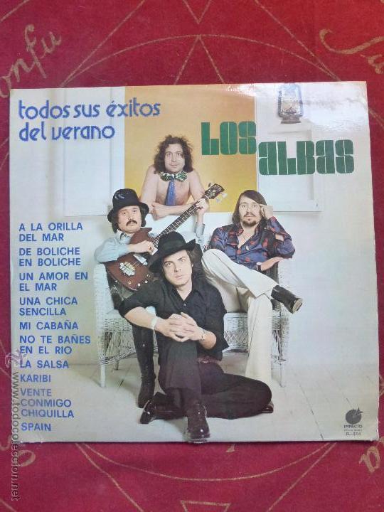 LOS ALBAS ( TODOS SUS ÉXITOS DEL VERANO ) LP VINILO IMPACTO 1977 - BUEN ESTADO (Música - Discos - LP Vinilo - Grupos Españoles de los 70 y 80)
