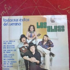 Discos de vinilo: LOS ALBAS ( TODOS SUS ÉXITOS DEL VERANO ) LP VINILO IMPACTO 1977 - BUEN ESTADO. Lote 47669543