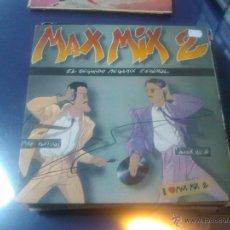 Discos de vinilo: MAX MIX 2 (MIKE PLATINAS Y JAVIER USSIA). Lote 47673860