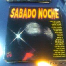 Discos de vinilo: SABADO NOCHE (2LPS) JOHN PAUL YOUNG, GLORIA GAYNOR, DONNA SUMMER, ANITA WARD, TINA CHARLES, ETC.... Lote 47674013