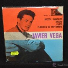 Discos de vinil: JAVIER VEGA - SPEEDY GONZALES +3 - EP. Lote 47676977