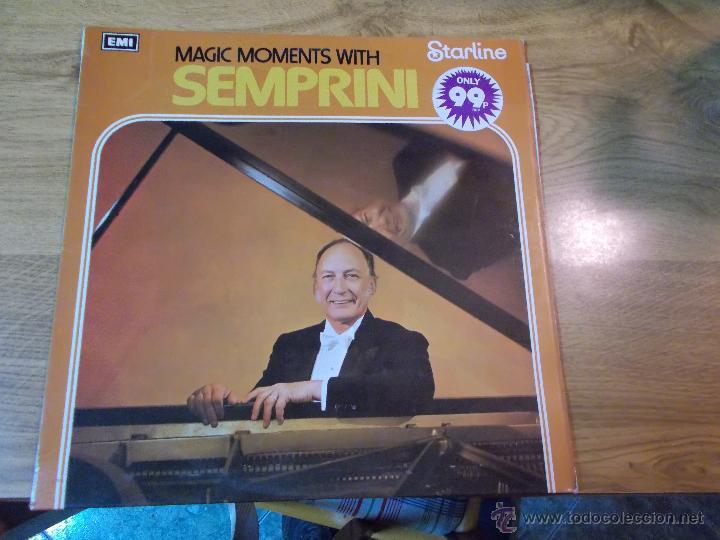 MAGIC MOMENTS WITH SEMPRINI (Música - Discos - LP Vinilo - Orquestas)