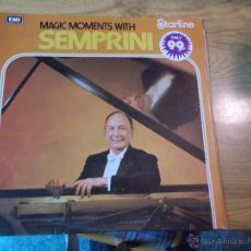 Discos de vinilo: MAGIC MOMENTS WITH SEMPRINI. Lote 47680897