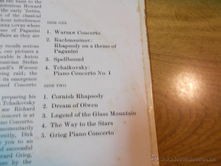 Discos de vinilo: BIG CONCERTO MOVIE THEMES - Foto 2 - 47681745