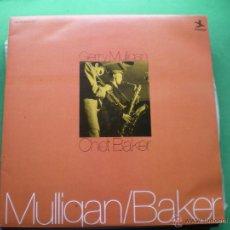 Discos de vinilo: GERRY MULLIGAN&CHET BAKER 1976 GATEFOLD.2LPS.LABEL PRESTIGE. PDELUXE. Lote 47684997