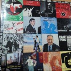 Discos de vinilo: PEIO ETA PANTXOA 1969-1991 2XLPS CARPETA DOBLE+ LETRAS. Lote 47686145