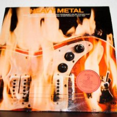 Discos de vinilo: HEAVY METAL 2LP CARPETA DOBLE. Lote 47695026