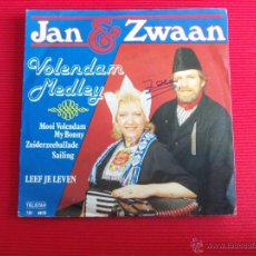 Discos de vinilo: JAN & ZWAAN - VOLENDAM MEDLEY. Lote 47696971