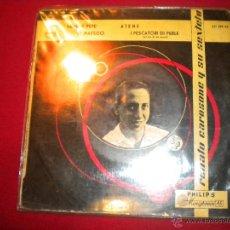 Discos de vinilo: RENATO CAROSONE Y SU SEXTETO - NENE E PEPE ... - PHILIPS 1958. Lote 47699466