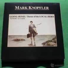 Discos de vinilo: MARK KNOPFLER (DIRE STRAITS) MAXI 1993 THEME OF THE LOCAL HERO .2TEMAS. PDELUXE. Lote 47700372