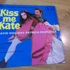 Discos de vinilo: KISS ME KATE. DAVID HOLLIDAY. PATRICIA ROUTLEDGE. Lote 47700779