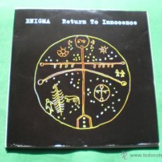 Discos de vinilo: ENIGMA MAXI 1993 RETURN TO INNOCENCE .3TEMAS.MADE IN UK. PDELUXE. Lote 47702499