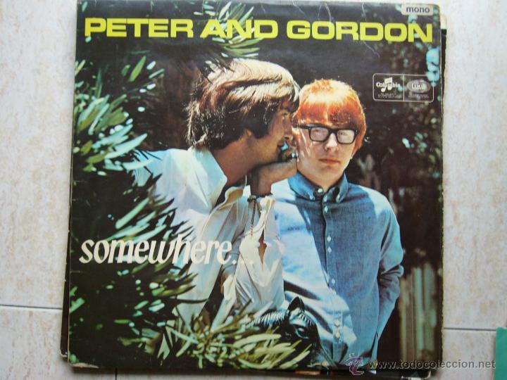PETER AND GORDON - SOMEWHERE ... (Música - Discos - LP Vinilo - Pop - Rock Internacional de los 50 y 60)