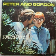 Discos de vinilo: PETER AND GORDON - SOMEWHERE .... Lote 47702596