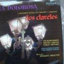 Discos de vinilo: LA DOLOROSA. J.J. LLORENTE. J. SERRANO. LOS CLAVELES. L. FERNÁNDEZ SEVILLA, A.C. CARREÑO. J. SERRANO. Lote 47704625