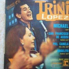 Discos de vinilo: TRINI LOPEZ - SURF Nº9. Lote 47704922