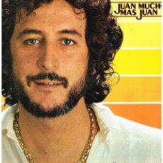 Discos de vinilo: JUAN PARDO - JUAN MUCHO MÁS JUAN - LP 1980. Lote 47717570