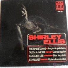 Discos de vinilo: SHIRLEY ELLIS - THE NAME GAME + 3 EP 1965. Lote 47697201