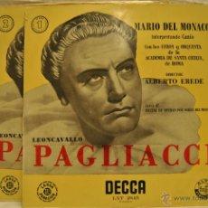 Discos de vinilo: 2 LP MARIO DEL MONACO. Lote 47718459