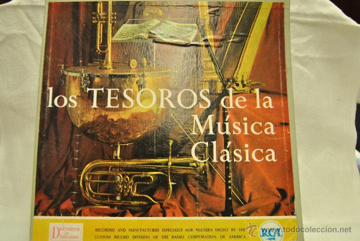LOS TESOROS DE LA MUSICO CLASICA. 5 LP (Música - Discos de Vinilo - EPs - Clásica, Ópera, Zarzuela y Marchas)