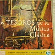 Discos de vinilo: LOS TESOROS DE LA MUSICO CLASICA. 5 LP. Lote 47718530