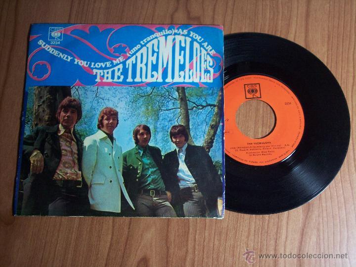 THE TREMELOES (TAL COMO ESTAS / UNO TRANQUILO) CBS 1968 (Música - Discos de Vinilo - Maxi Singles - Pop - Rock Internacional de los 50 y 60)