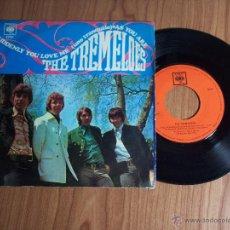 Discos de vinilo: THE TREMELOES (TAL COMO ESTAS / UNO TRANQUILO) CBS 1968. Lote 47719758