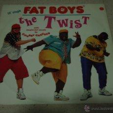 Discos de vinilo: FAT BOYS ( THE TWIST 3 VERSIONES ) 1988 - GERMANY MAXI45 POLYGRAM RECORDS. Lote 47721204