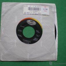 Discos de vinilo: BEATLES LET IT BE/YOU KNOW MY NAME SINGLE 1970 .FUNDA APPLE,LABEL APPLE.REEDICION JUKE BOX PDELUXE.. Lote 47721362