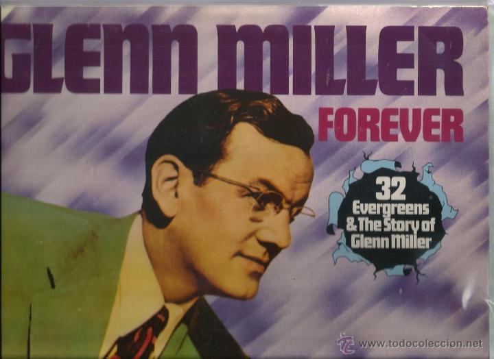 DOBLE LP GLENN MILLER FOREVER ( 32 TEMAS INSTRUMENTALES CON LA ORQUESTA DE GLENN MILLER ) (Música - Discos - LP Vinilo - Jazz, Jazz-Rock, Blues y R&B)