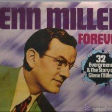 Discos de vinilo: DOBLE LP GLENN MILLER FOREVER ( 32 TEMAS INSTRUMENTALES CON LA ORQUESTA DE GLENN MILLER ) . Lote 47722222