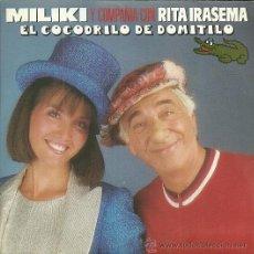 Discos de vinilo: MILIKI Y RITA IRASEMA SINGLE SELLO EMI AÑO 1987. Lote 47726044