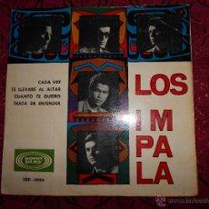 Discos de vinilo: LOS IMPALA // CADA VEZ + 3 . Lote 47729762